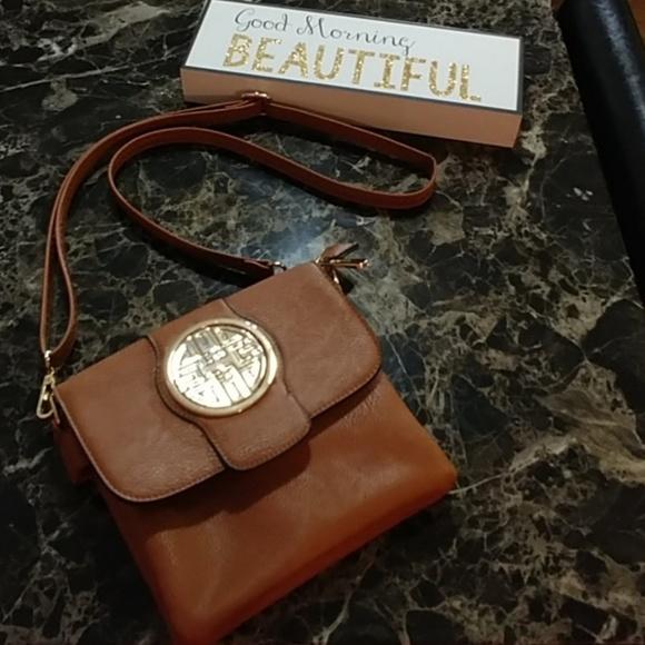 Handbags - Light Brown Leather Purse